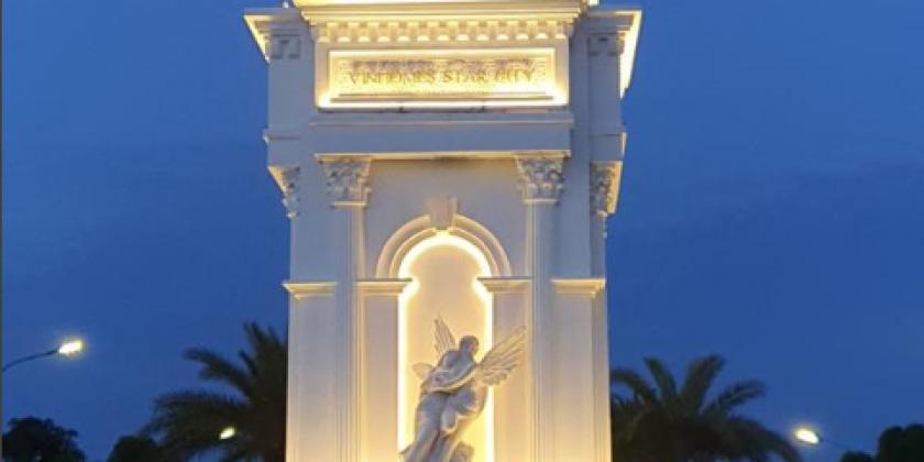 DỰ ÁN VINHOMES STAR CITY THANH HÓA - THI CÔNG CỔNG CHÀO VÀ HỆ THỐNG M&E